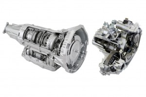 kiri Automatic Transmission (AT) dan kanan Continuously Variable Transmission (CVT)